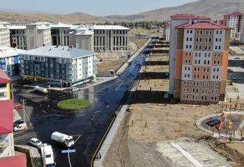 Abdurrahmangazi'nin prestij caddesi trafiğe açıldı