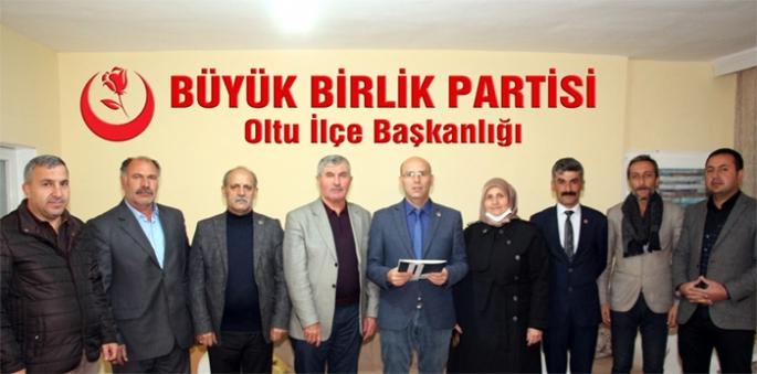 BBP Oltu İlçe Teşkilatı istifa etti