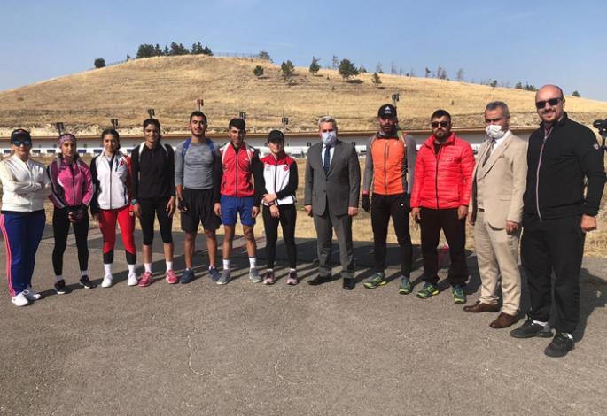 Biathloncular Kandilli'de güç depoluyor