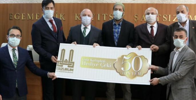 Büyükşehir'den Atlı Spor Kulüplerine yem desteği