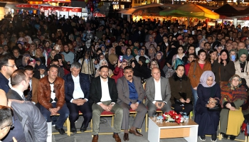 Erzurum'da Hatipoğlu coşkusu