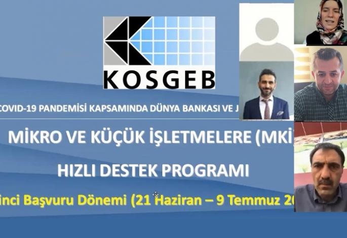 ETSO KOSGEB'den bilgilendirme toplantısı