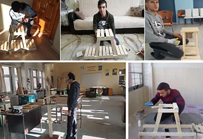 İşitme Engelli Öğrencilere 'Atölye Evim' projesi