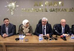 AK Parti Erzurum İl Başkanlığından Özkoç'a sert tepki