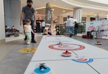 AVM'de Buz Sporları tanıtıldı