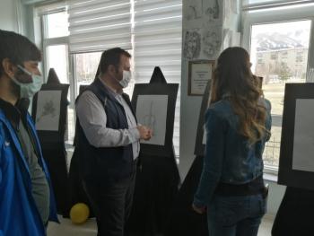 BahtınurGül resim sergisini açtı