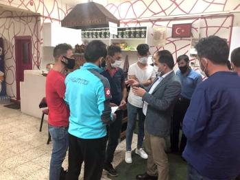 Başkan Mahmut Uçar gençleri dinledi