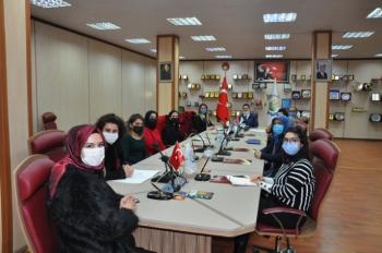 Başkan Oral 'dan Kadın Kooperatifi'ne destek