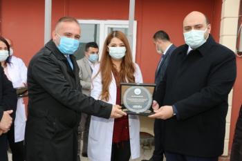 Başkan Orhan'dan Kanser Haftası sürprizi