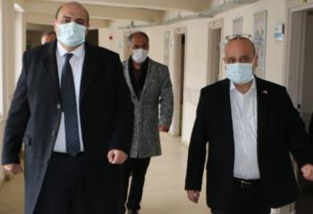 Başkan Orhan'dan Tıp Bayramı ziyareti