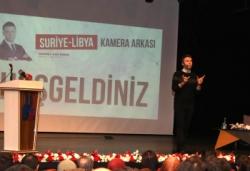 """Büyükşehir'den """"Suriye-Libya"""" konferansı"""