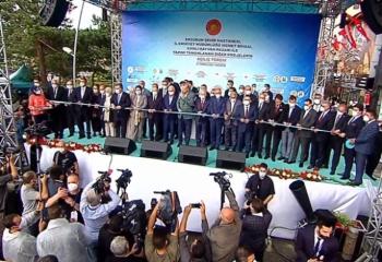 Erdoğan Erzurum'da yatırımları hizmete açtı
