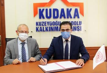 Erzurum'da test merkezi için imzalar atıldı