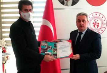 Erzurum GSİM'e teşekkür