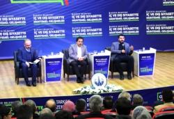 Ilıca'da iç ve dış siyaset konuşuldu