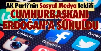 İşte AK Parti'den, 11 maddelik 'sosyal medya' teklifi