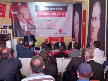 MHP Çat İlçe Olağan Kongresi yapıldı