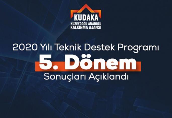 Erzurum'dan 2 projeye KUDAKA'dan teknik destek