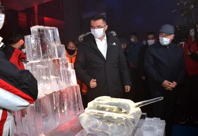 Türkiye'nin Tek Buz Müzesi açıldı