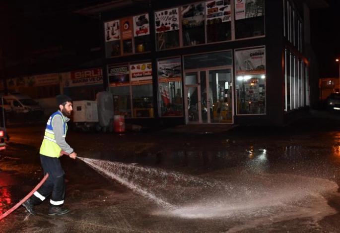 Yakutiye Belediyesi Bayram temizliğinde